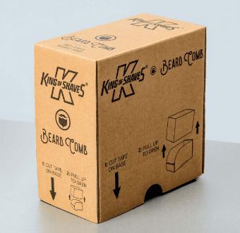 custom corrugated Shelf Ready Packaging (SRP)