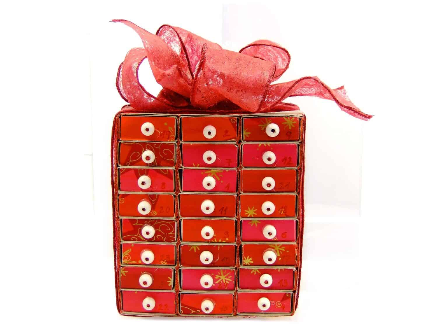 advent calendar luxury packaging boxes
