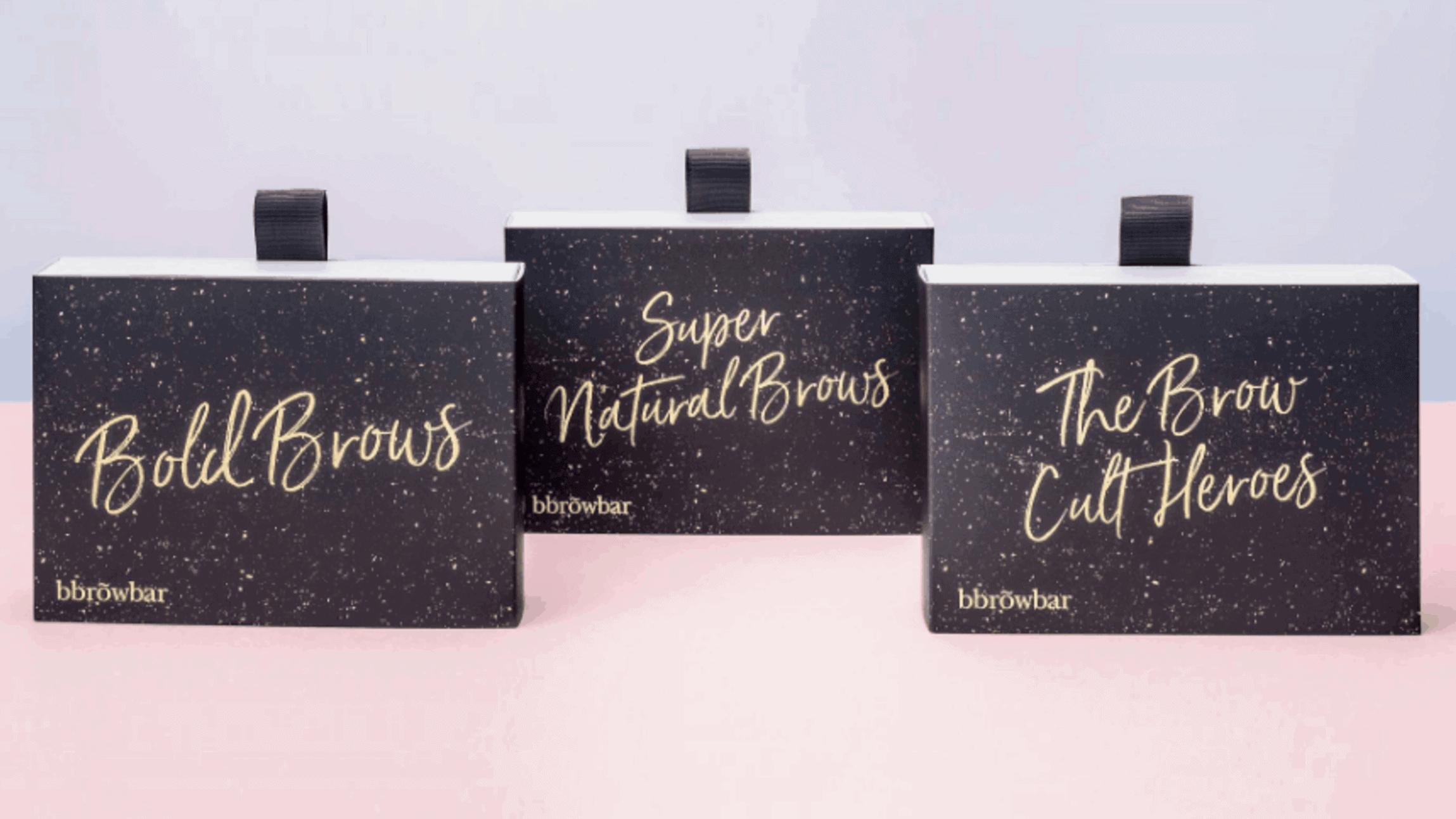 blink brow bar folding cartons
